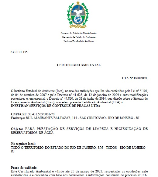 certificado-registro-higienizacao-inea